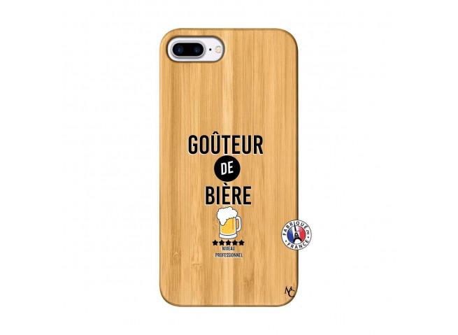 Coque iPhone 7Plus/8Plus Gouteur De Biere Bois Bamboo