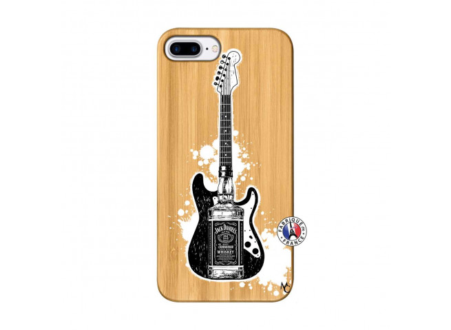 Coque iPhone 7Plus/8Plus Jack Let's Play Together Bois Bamboo