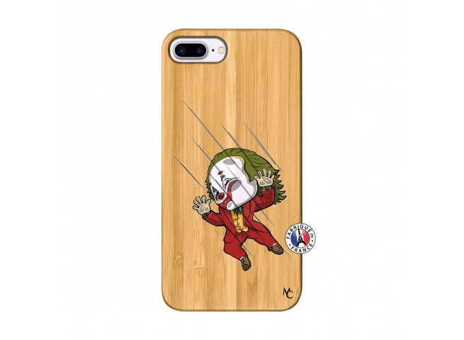 Coque iPhone 7Plus/8Plus Joker Impact Bois Bamboo