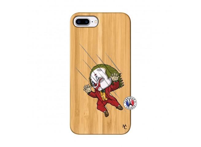 Coque iPhone 7Plus/8Plus Joker Impact Bois Bamboo