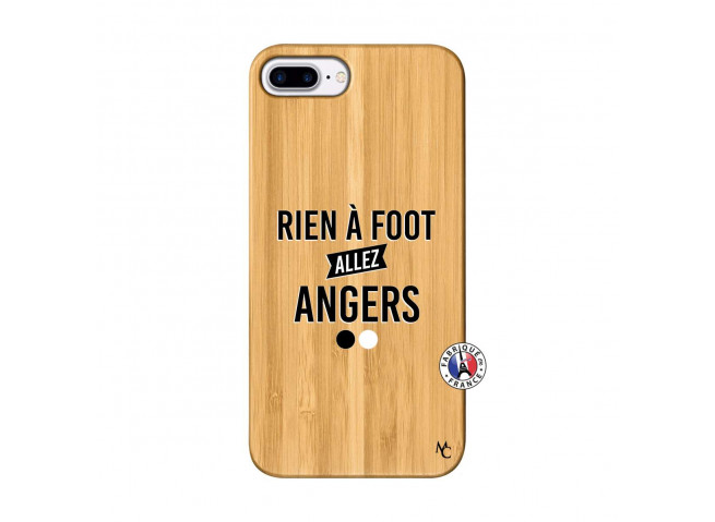 Coque iPhone 7Plus/8Plus Rien A Foot Allez Angers Bois Bamboo