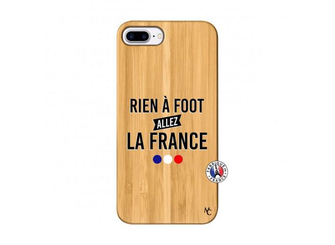 Coque iPhone 7Plus/8Plus Rien A Foot Allez La France Bois Bamboo