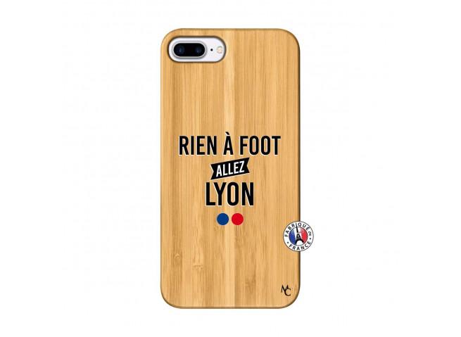 Coque iPhone 7Plus/8Plus Rien A Foot Allez Lyon Bois Bamboo