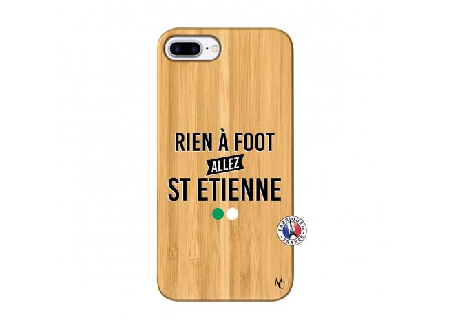 Coque iPhone 7Plus/8Plus Rien A Foot Allez St Etienne Bois Bamboo