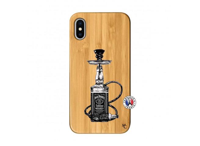 Coque iPhone X/XS Jack Hookah Bois Bamboo