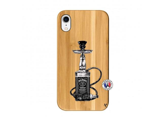 Coque iPhone XR Jack Hookah Bois Bamboo