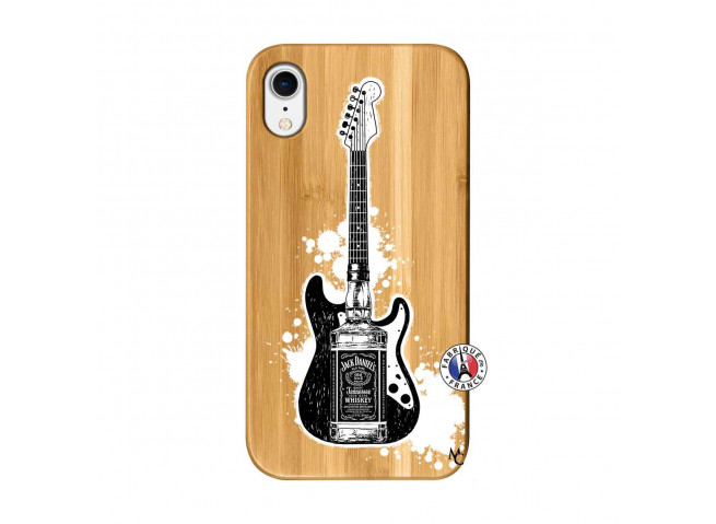 Coque iPhone XR Jack Let's Play Together Bois Bamboo
