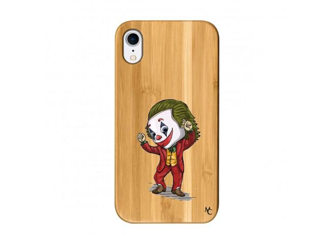 Coque iPhone XR Joker Dance Bois Bamboo