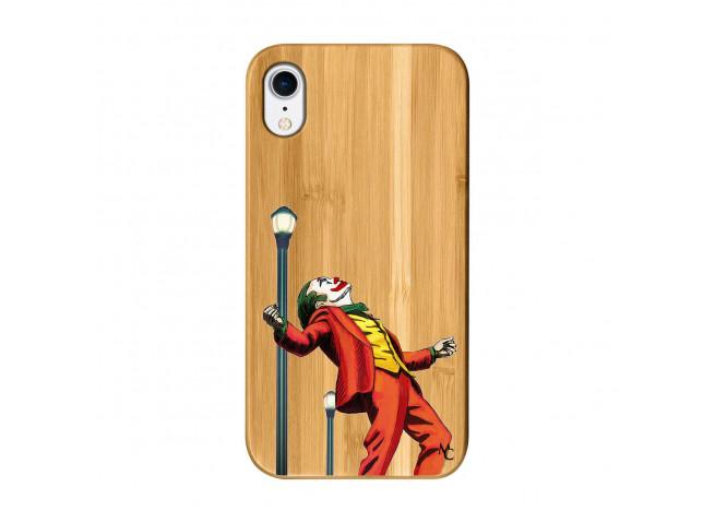 Coque iPhone XR Joker Bois Bamboo
