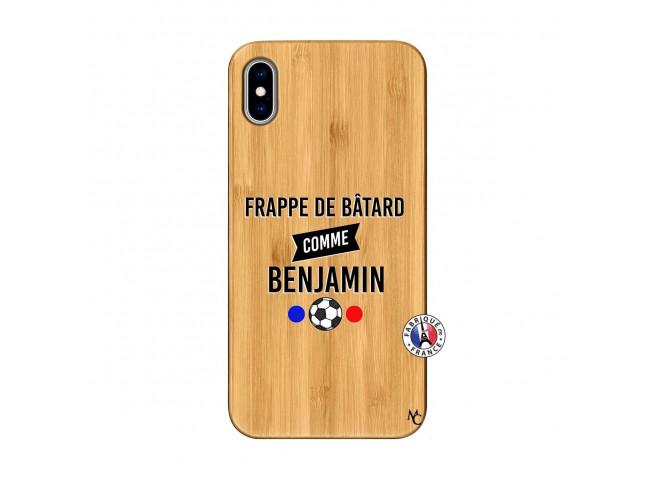 Coque iPhone XS MAX Frappe De Batard Comme Benjamin Bois Bamboo