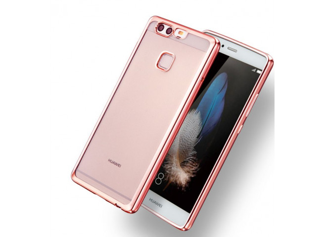 Coque Honor 9 Lite Rose Gold Flex