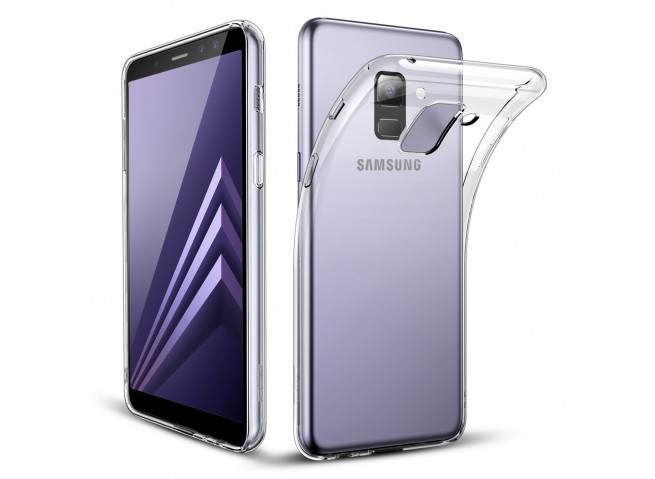 Coque Samsung Galaxy A8 (2018) Clear Flex