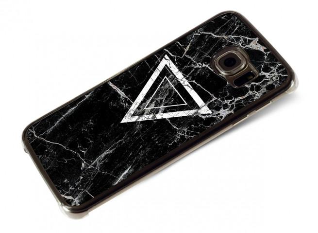 Coque Samsung Galaxy S6 Edge Black Marble