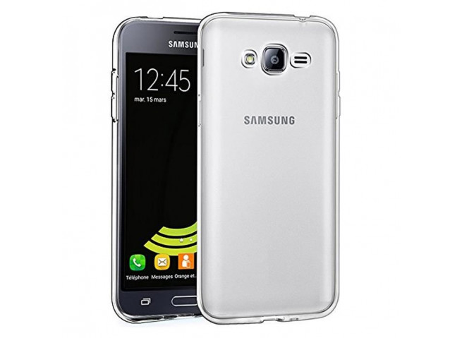 Coque Samsung Galaxy J1 2016 Clear Flex
