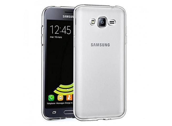 Coque Samsung Galaxy J3 2017 Clear Hybrid