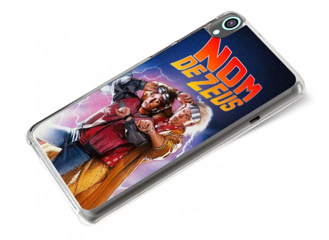 Coque HTC Desire 820 Retour Vers le Futur-Nom de Zeus