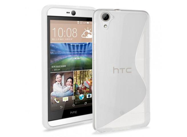 Coque HTC Desire 826 Silicone Grip-Translucide
