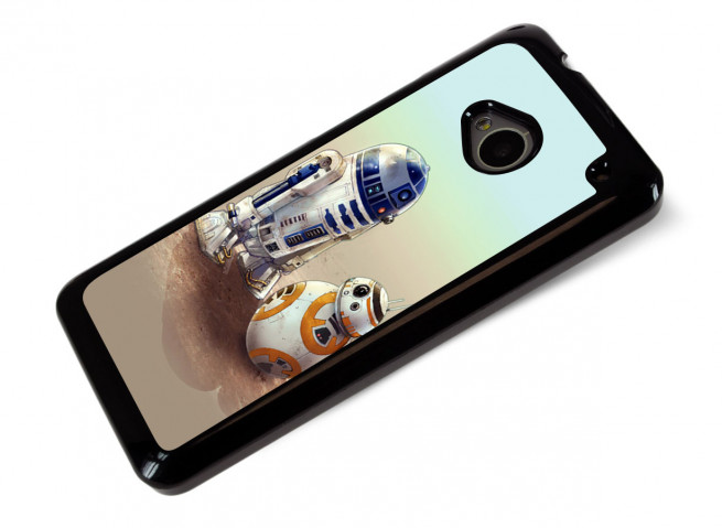 Coque HTC One M7 Robot