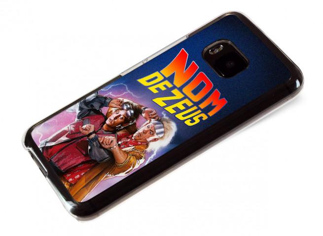 Coque HTC One M9 Retour Vers le Futur-Nom de Zeus