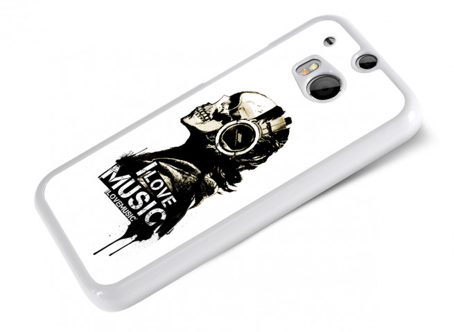 Coque HTC One M8 I Love Music
