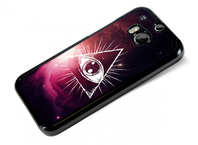 Coque HTC One M8 Infinity Eye