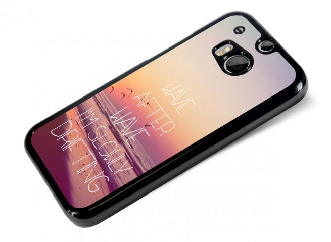 Coque HTC One M8 Wave
