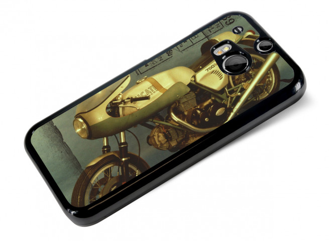 Coque HTC One M8 Vintage-Old Bike