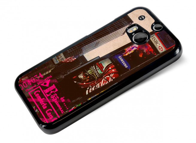 Coque HTC One M8 Vintage-Time Square