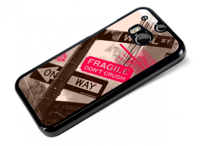 Coque HTC One M8 Vintage-Wall Street