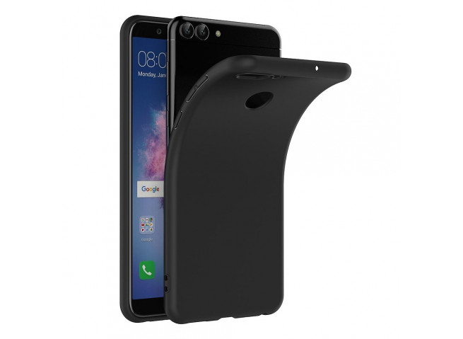 Coque Huawei P Smart Silicone-Noir