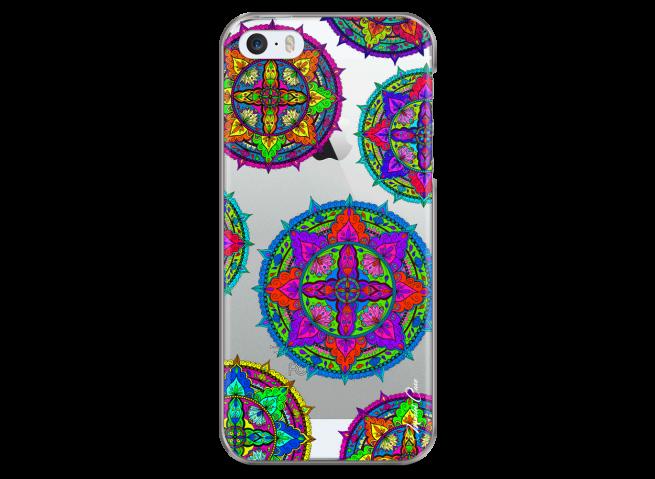 Coque iPhone 5/5s/SE Multi Mandala