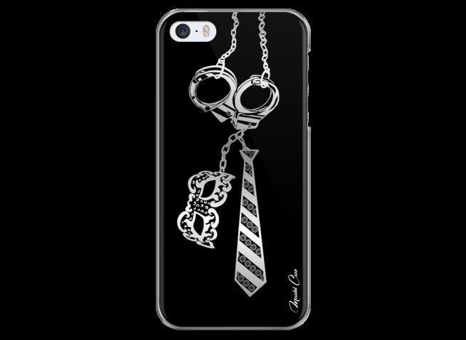 Coque iPhone 5/5s/SE Hand cuffs mask tie
