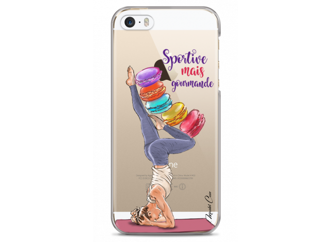Coque iPhone 5C Sportive mais Gourmande
