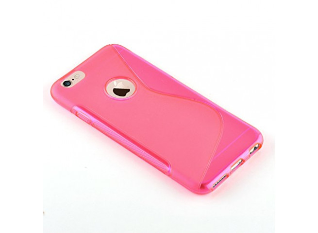 Coque iPhone 7 Plus Silicone Grip-Rose