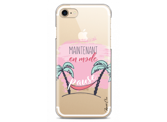 Coque iPhone 7Plus/8Plus En mode pause