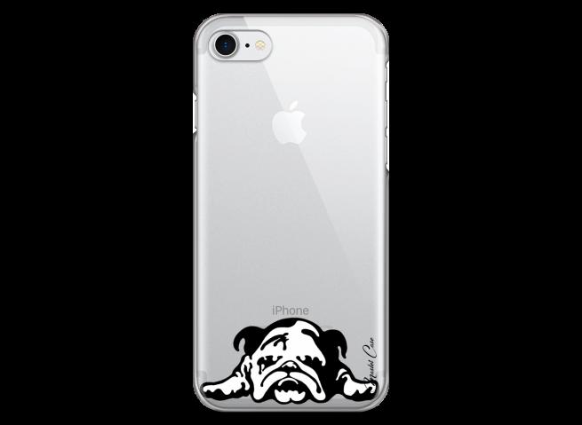 Coque iPhone 7/8 Dog tu restes mon ami