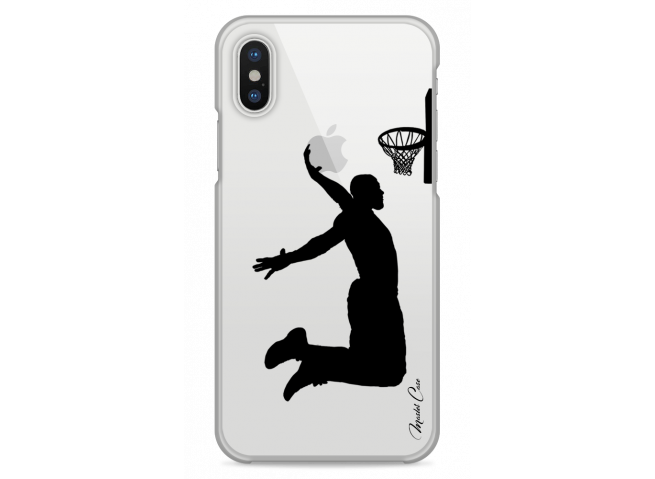 zz coque iphone x design master case basketball player