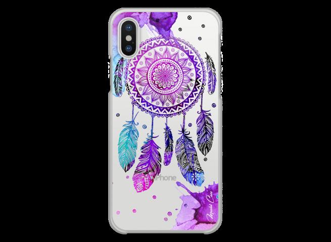 Coque iPhone XR  Dreamcatcher artistic color
