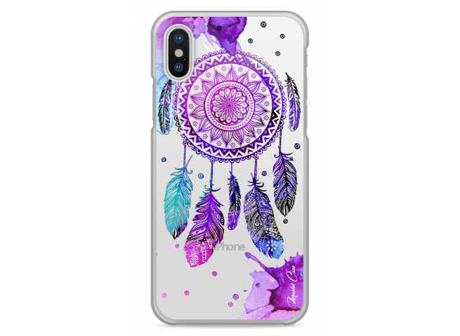 Coque iPhone XS MAX  Dreamcatcher artistic color