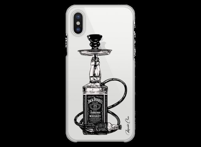 Coque iPhone X Jack Hookah
