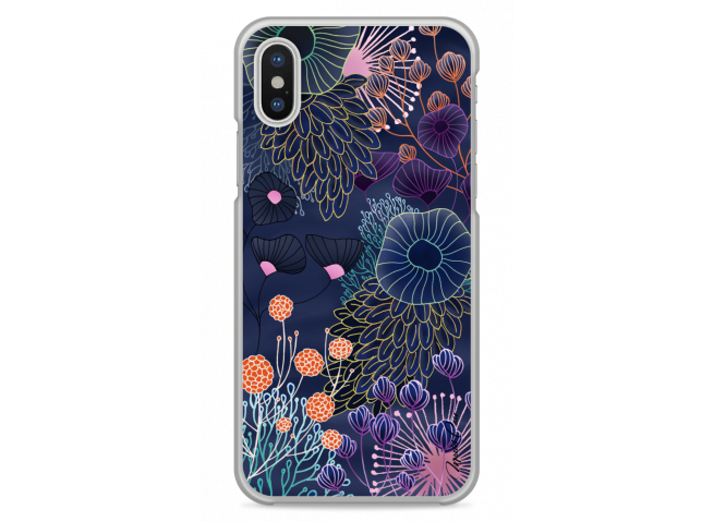 Coque iPhone XS MAX Watercolor Flowers