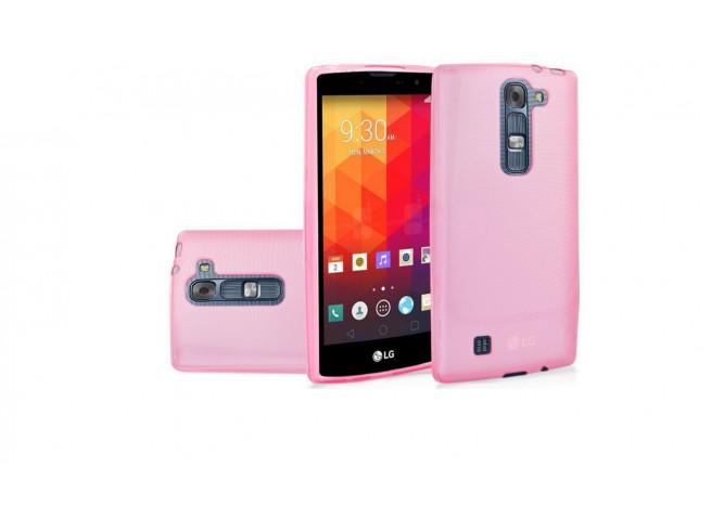 Coque LG G4C Silicone Opaque-Rose