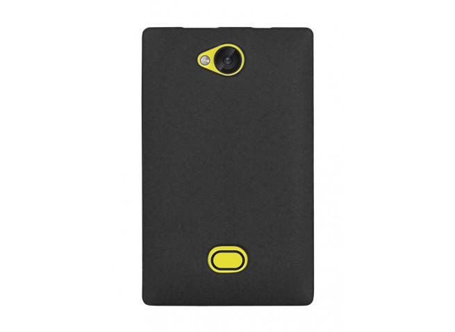 Coque Nokia Asha 503 Silicone Case Noire