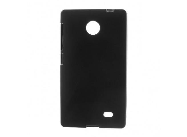Coque Nokia X Silicone Case Noire