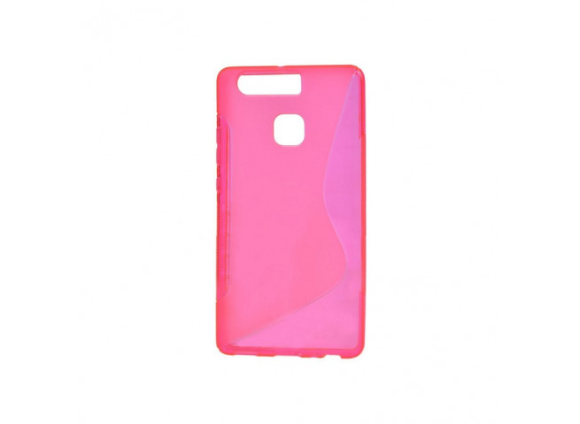 Coque Huawei P9 Silicone Grip Rose
