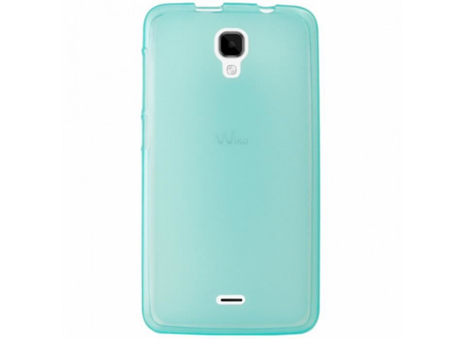 Coque Wiko Bloom Regular Flex-Turquoise