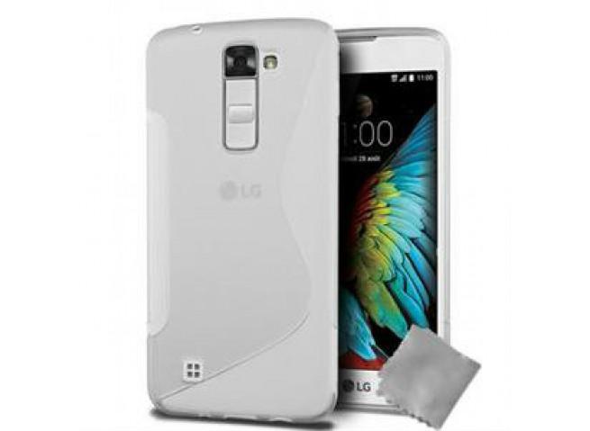 Coque LG V30 Silicone Grip-Translucide