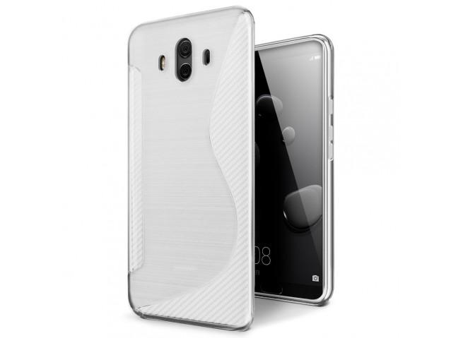 Coque Huawei Mate 10 Pro Silicone Grip Translucide