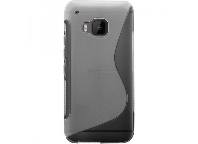Coque HTC One M9 Silicone Grip-Translucide