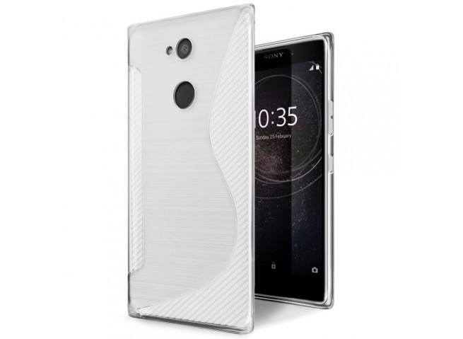 Coque Sony Xperia L2 Silicone Grip-Translucide